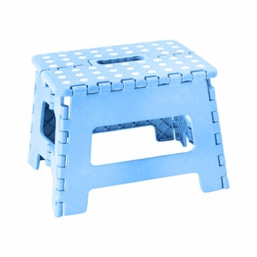 Small Blue Step Stool