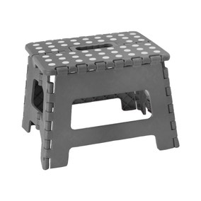 Small Cool Grey Step Stool