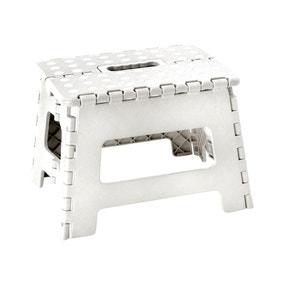 Small White Step Stool