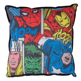 Marvel Comics Strike Square Cushion
