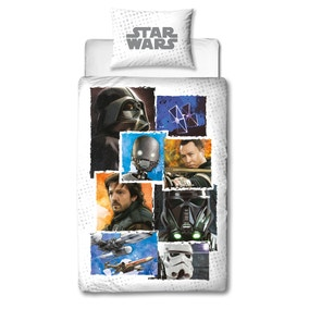 Star Wars Rogue 1 Battle Duvet Cover and Pillowcase Set