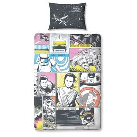Star Wars Montage Duvet Cover and Pillowcase Set