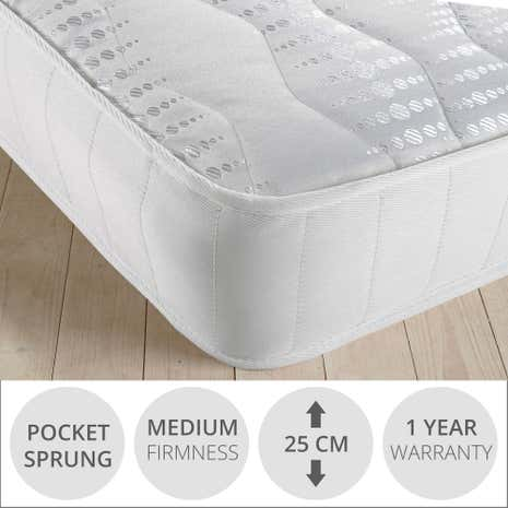 Orchid 800 Quilted Pocket Mattress