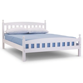 Lucca White Bedstead