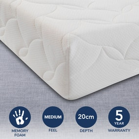 Relyon Memory Foam Coolmax 500 Mattress