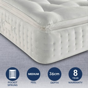 Relyon Ruby Pillow 1800 Mattress