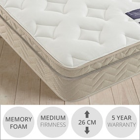 Silentnight Oslo Miracoil 7-Zone Memory Foam Mattress