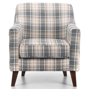 Bloomsbury Fabric Accent Armchair