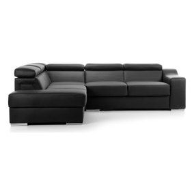 Henderson Faux Leather Left Hand Corner Sofa