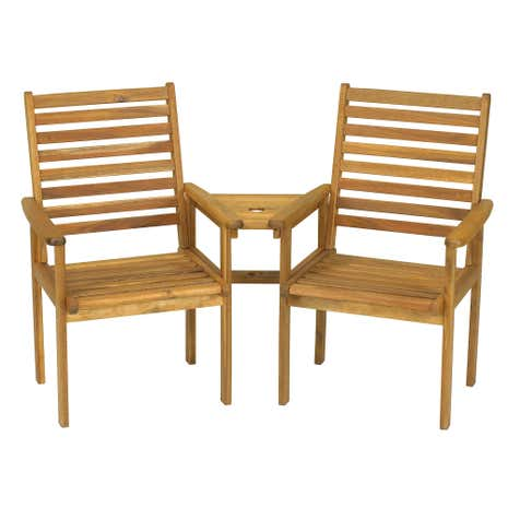 Napoli Brown 2 Seat Companion Set