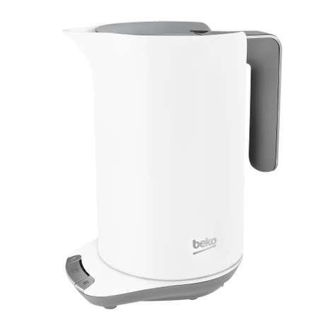 Beko 1.6L White Temperature Control Kettle