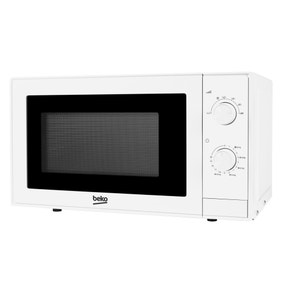 Beko White 700w Compact Microwave
