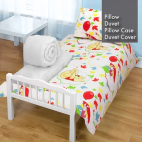 Disney Winnie the Pooh Classic Duvet, Pillow, Duvet Cover and Pillowcase Bundle