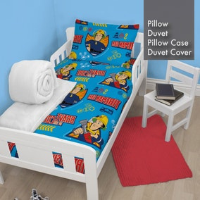 Fireman Sam Duvet, Pillow, Duvet Cover and Pillowcase Bundle