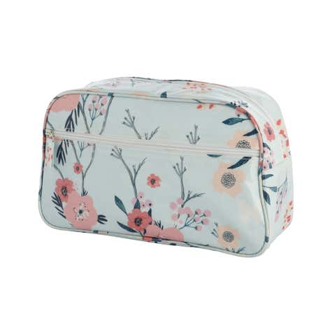 Sakura Blue Wash Bag