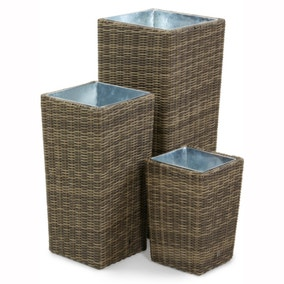 Winchester Set of 3 Tall Planters
