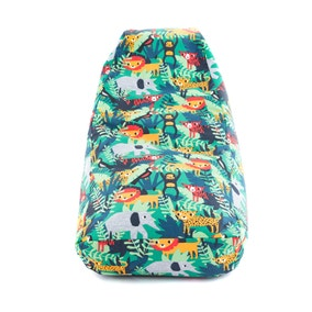 Kids Jungle Friends Relaxer Bean Bag