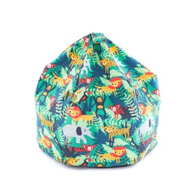 Kids Jungle Friends Beanbag
