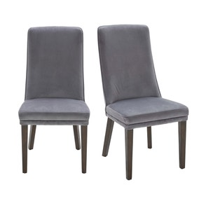 Thor Pair of Charcoal Chairs