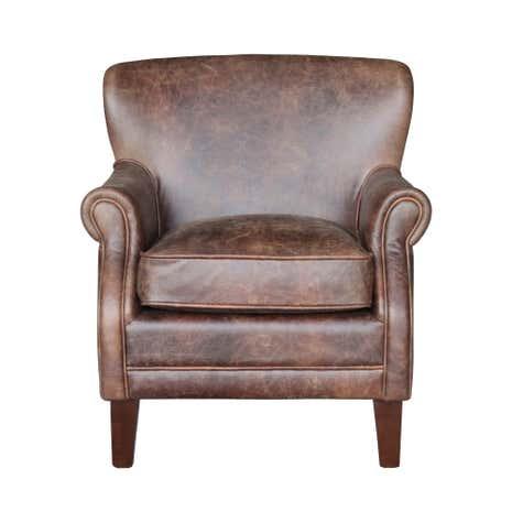leamington leather armchair