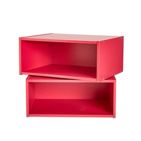 Alton Pink Set of 2 Colour Boxes