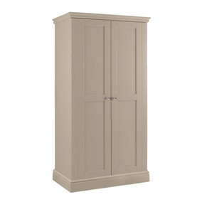Blakely Taupe Narrow Wardrobe