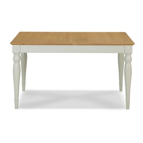 Eaton Soft Grey Rectangular Extending Dining Table