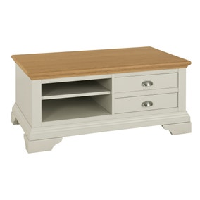 Eaton Soft Grey Coffee Table