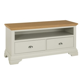 Eaton Soft Grey TV Stand