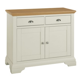 Eaton Soft Grey Narrow Sideboard