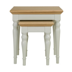 Eaton Soft Grey Nest of Tables