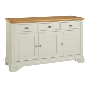 Eaton Soft Grey Wide Sideboard