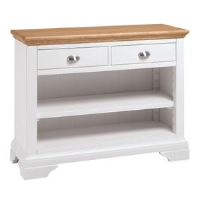 Eaton Two Tone Console Table