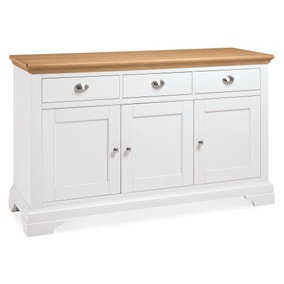 Eaton Two Tone Wide Sideboard