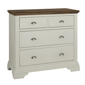 Eaton Walnut 4 Drawer Chest