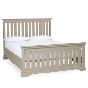 Blakely Taupe High Foot Bedstead