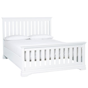 Blakely White High Foot Bedstead