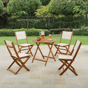 Wooden 4 Seat Dining Set