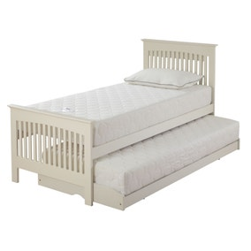 Relyon Duo Ivory Guest Bed with Open Coil Mattresses