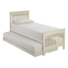 Relyon Ivory Duo Guest Bed with Foam Mattresses