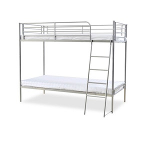 Torquay Silver Bunk Bed