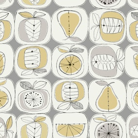 Elements Fruit Print PVC Fabric