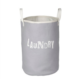 Grey Laundry Basket