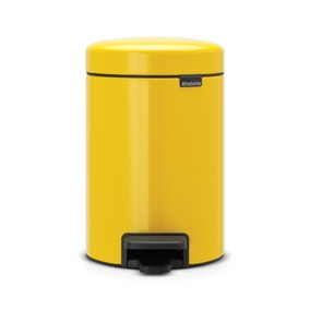 bathroom bins small pedal bins dunelm