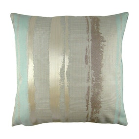 Margo Duck Egg Stripe Cushion Cover