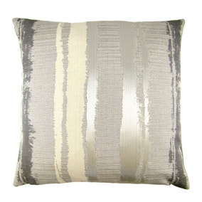 Margo Grey Stripe Cushion Cover