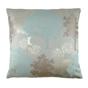 Margo Duck Egg Trees Cushion Cover