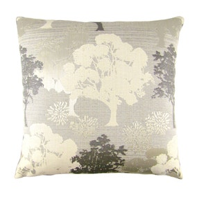 Margo Grey Trees Cushion Cover
