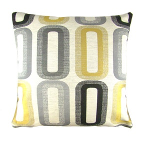 Dahl Ochre Cushion Cover