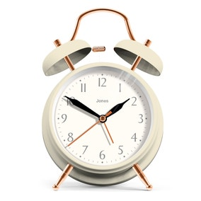 Jones Rise and Shine Cream Clock